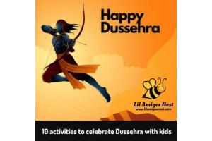 activities to celebrate Dussehra