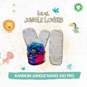 Kindermum Random Jungle Nano Pro AIO ( with 2 organic inserts and power booster)