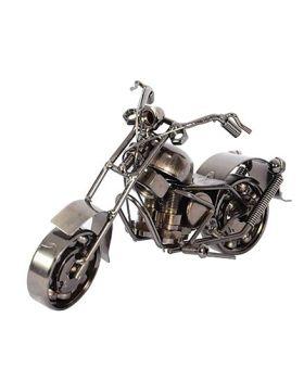 Desi Karigar Harley Davidson Replica Toy Bike - Silver