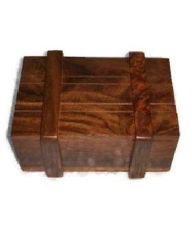 Desi Karigar Wooden Puzzle Magic Box - Brown