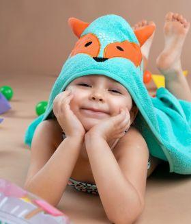 Rabitat Hooded Towel - Fox
