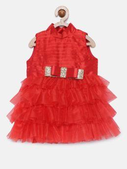 Tutus by Tutu-Tiered High Neck Dress