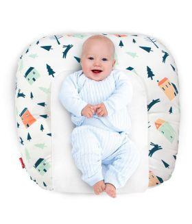 Rabitat Snooze Baby Lounger - Rabbit Hole