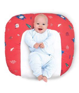 Rabitat Snooze Baby Lounger - Arctic Woodland