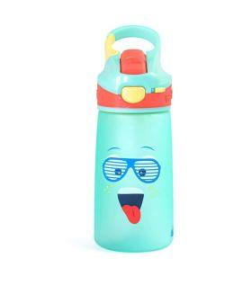 Rabitat Snap Lock Sipper Bottle -Blue Spunky