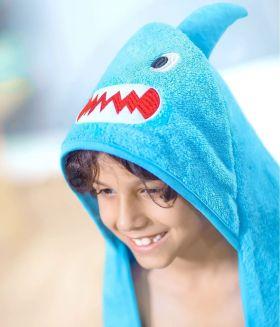 Rabitat Hooded Towel - Shark