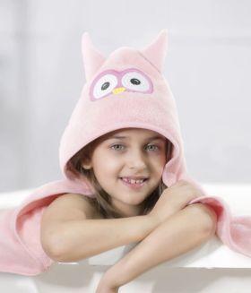 Rabitat Hooded Towel - Owl