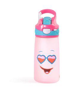 Rabitat Snap Lock Sipper Bottle -Pink Diva