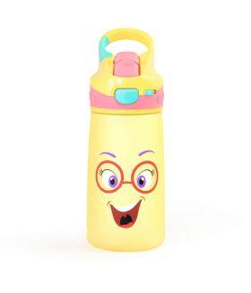 Rabitat  Snap Lock Sipper Bottle - Sizzle