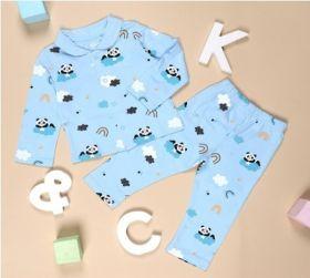Kicks & Crawl- Panda in the Clouds Nightsuit