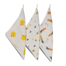 Kicks & Crawl - Cotton wash cloth- Bath Duck (PO3)