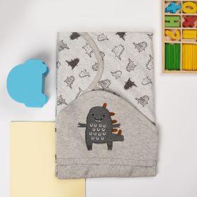 Kicks & Crawl -Friendly Hooded Wrapper
