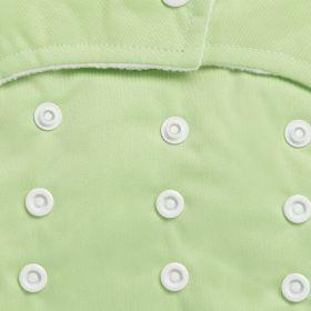 Kicks and Crawl-Reusable Green Cloth Diaper