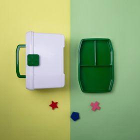 Baby Moo-Small Green Medicine Box