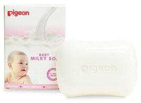 PIGEON 26724 SOAP MILKY NEW 1PCS