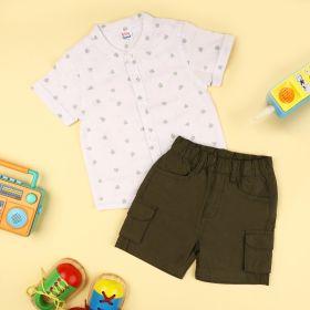Kicks & Crawl- Outdoor Buddy Shirt & Shorts Set