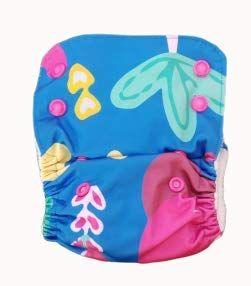Kindermum Random Jungle - Nano all-in-one trim cloth diapers