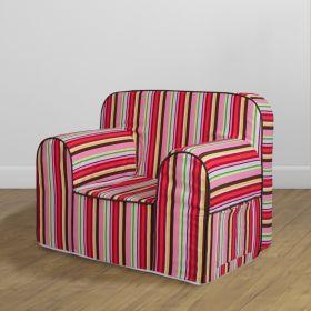 Role Play Kids-Role Play Comfy Sofa- Multi Stripe Casablanca