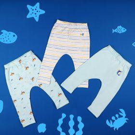Kicks & Crawl-Sea Explorer Diaper Leggings- 3 Pack