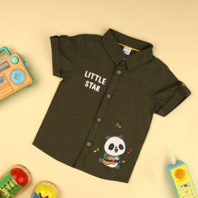 Kicks & Crawl- Lil' Star Panda Shirt