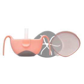b.box Bowl + Straw set Tutti Fruiti Light Pink