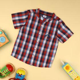 Kicks &Crawl- Check's & Rec's Baby Shirt