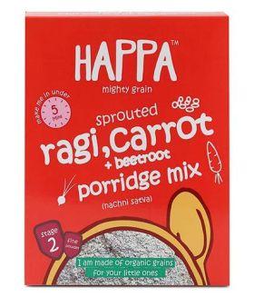 HappaFoods-ragi almonds+ dates porridge (200gm)