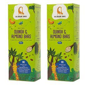 The Growing Giraffe Quinoa Almond Bars (Pack of 2), 200 gm each