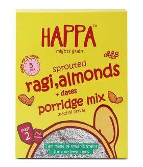 HappaFoods-ragi mango + banana porridge (200gm)