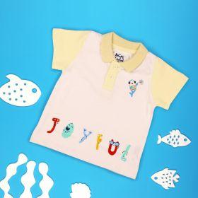 Kicks & Crawl- Jolly Fish Polo T-shirt