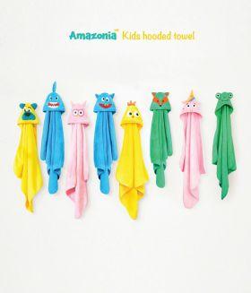 Rabitat Hooded Towel - Frog