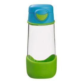 b.box Tritan Sport Spout Drink Bottle 450ml - Ocean Breeze Blue Green