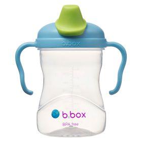 b.box Soft Spout Cup 240ml- Blueberry Blue Green