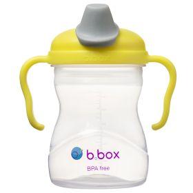 b.box Soft Spout Cup 240ml- Lemon Yellow Grey
