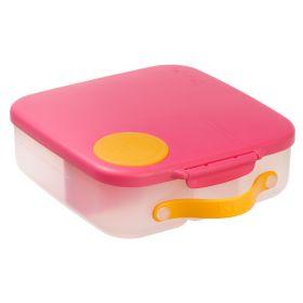 b.box Lunch Box Strawberry Shake Pink Orange
