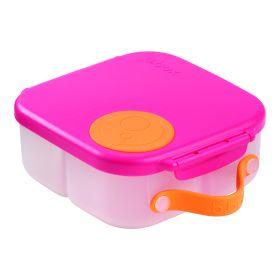 b.box Mini Lunch Box Strawberry Shake Pink Orange
