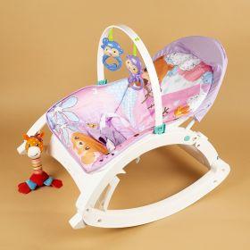 Baby Moo-Nature Lover Purple Portable Rocker