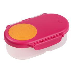 b.box Snack Box Strawberry Shake Pink Orange