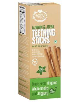 Early Food Whole Wheat Ajwain Jaggery Teething Sticks 150g