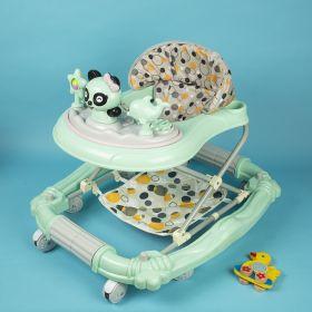 Baby Moo-Parent Push Green Walker