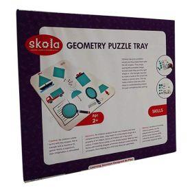 Skola Toys - Geometry Puzzle Tray