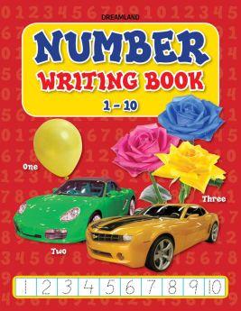 Dreamland-Number Writing Book 1-10
