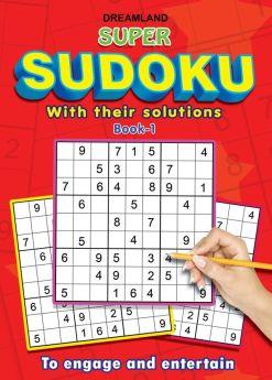 Dreamland-Super Sudoku With Solutions Book 1