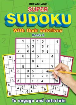 Dreamland-Super Sudoku With Solutions Book 3