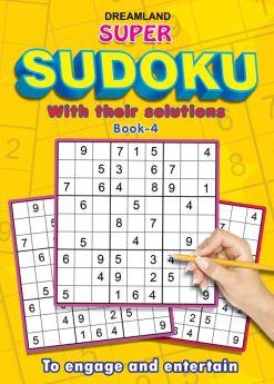 Dreamland-Super Sudoku With Solutions Book 4