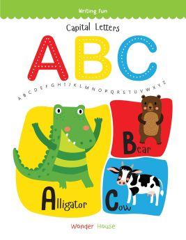 Wonderhouse-Capital Letters ABC: Write and practice Capital Letters A to Z book for kids (Writing Fun)