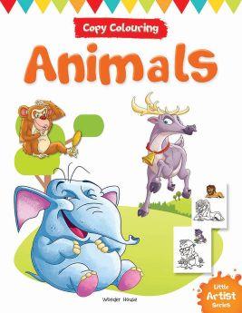 Wonderhouse-Little Artist Series Animals: Copy Colour Books