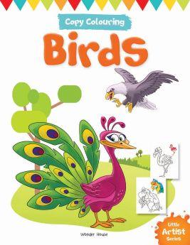 Wonderhouse-Little Artist Series Birds: Copy Colour Books