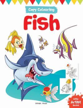 Wonderhouse-Little Artist Series Fish: Copy Colour Books