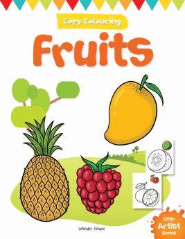 Wonderhouse-Little Artist Series Fruits: Copy Colour Books